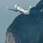 Transavia Boeing vertrekt vanaf Innsbruck