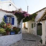 een dorpje op Corfu