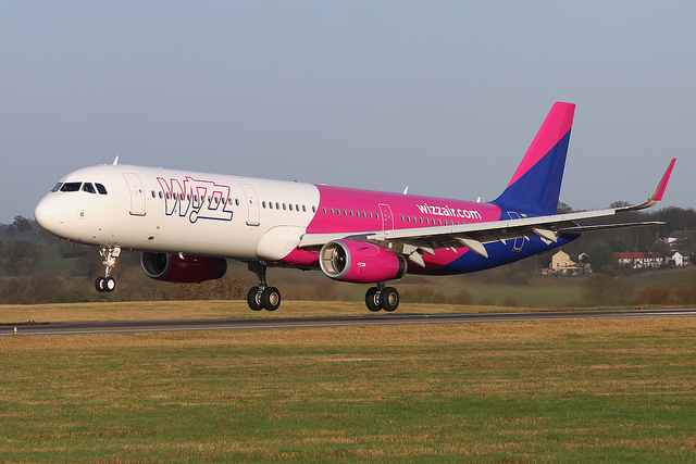 Airbus A321 Wizz Air